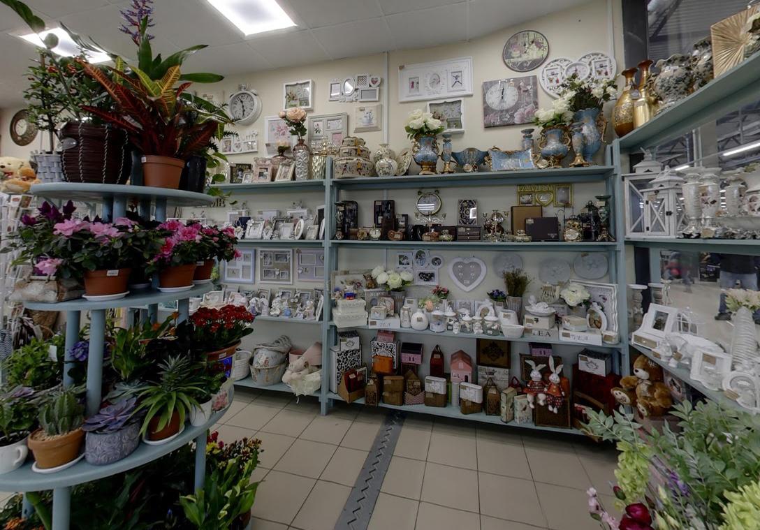 Цветы в словянке